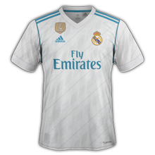 Real Madrid 2018 maillot de foot domicile Adidas