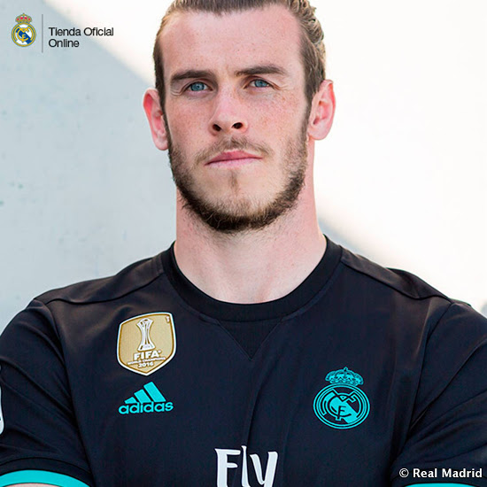 Real Madrid 2018 maillot exterieur 17 18 Bale
