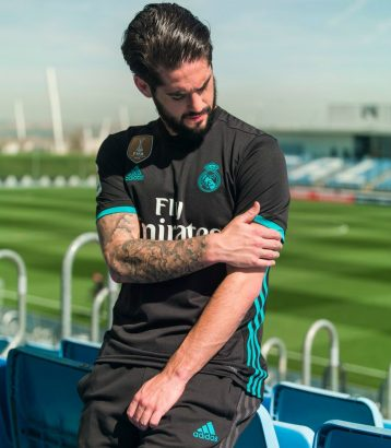 Real Madrid 2018 maillot exterieur Isco