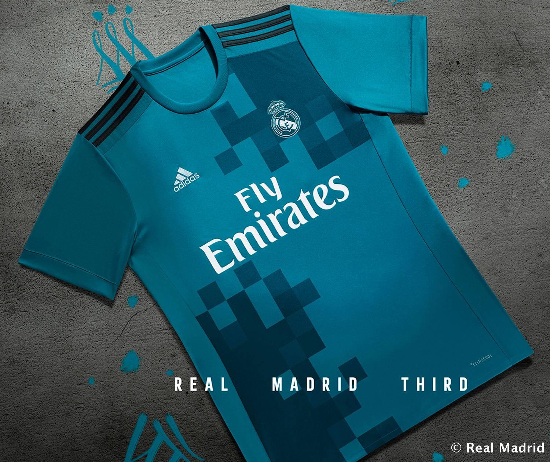 Real Madrid 2018 maillot third Adidas 2017 2018