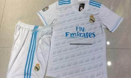 Real Madrid 2018 les couleurs des maillots 17-18