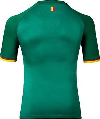 Senegal 2017 dos maillot exterieur vert CAN 2017