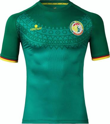 Senegal 2017 maillot foot exterieur Romai CAN 2017