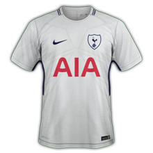 Tottenham 2018 maillot domicile football