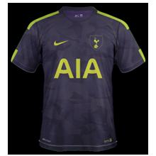 Tottenham 2018 troisieme maillot third 17 18