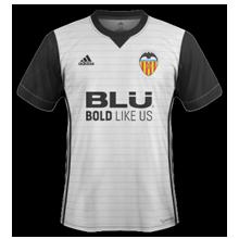 maillot Valencia 2018 extérieur
