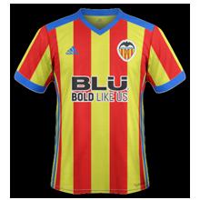 maillot Valencia 2018 domicile