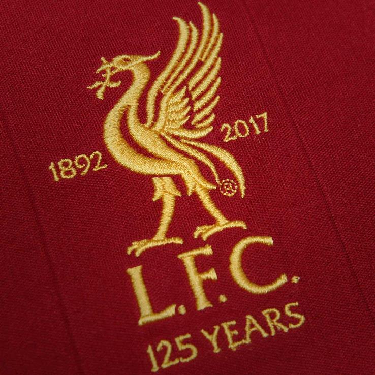blason Liverpool 125 ans 2017 2018