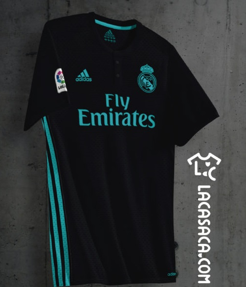 supposition maillot exterieur 2018 Real Madrid