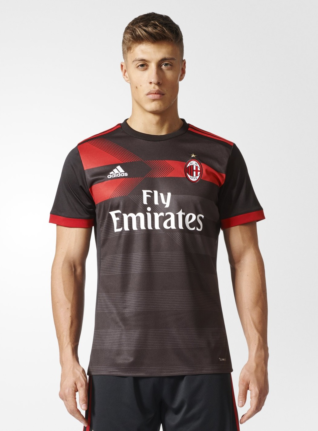 AC Milan 2017 2018 maillot third Adidas