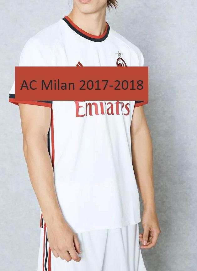 AC Milan 2018 maillot exterieur foot Adidas