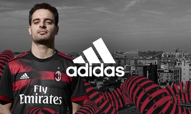 Maillots de football AC Milan 2018