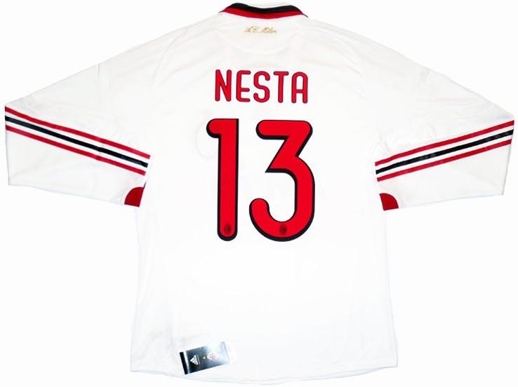 AC Milan maillot bandes Adidas rouge et noir