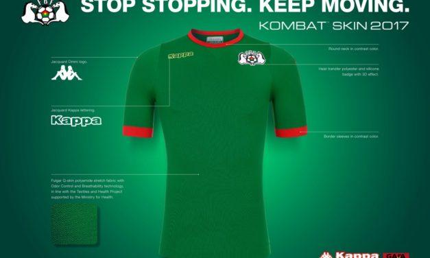 Burkina Faso 2017 maillots Kappa pour la CAN 2017