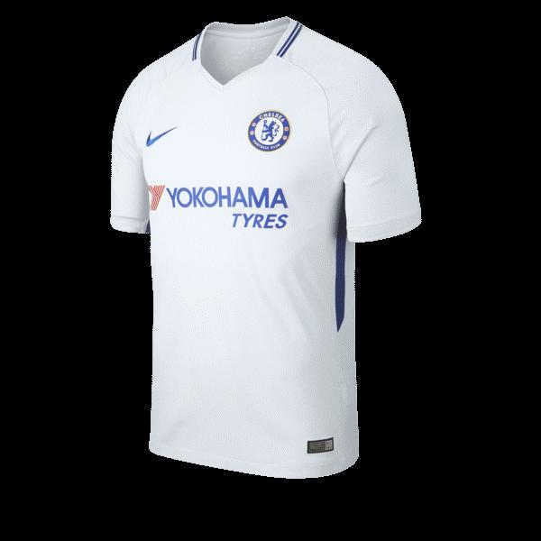 Chelsea 2017 2018 maillot exterieur Nike