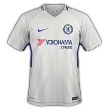Chelsea 2018 maillot foot exterieur 17 18