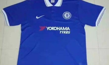 Photos du maillot domicile Chelsea 2018 chez Nike ?