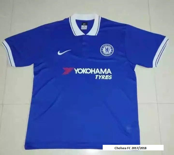 Chelsea 2018 possible maillot domicile Nike