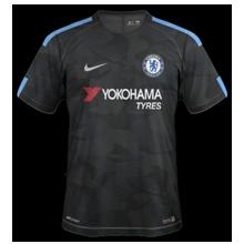 Chelsea 2018 trosième maillot third 2017 2018 foot