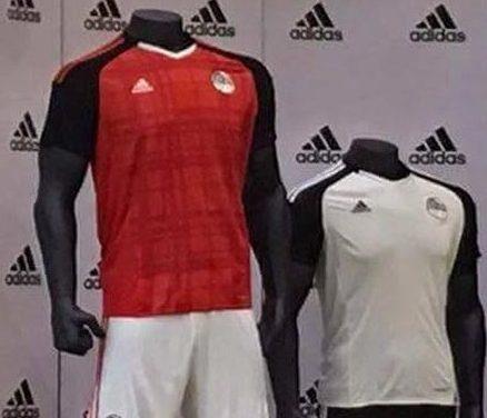 Les maillots de foot Egypte CAN 2017