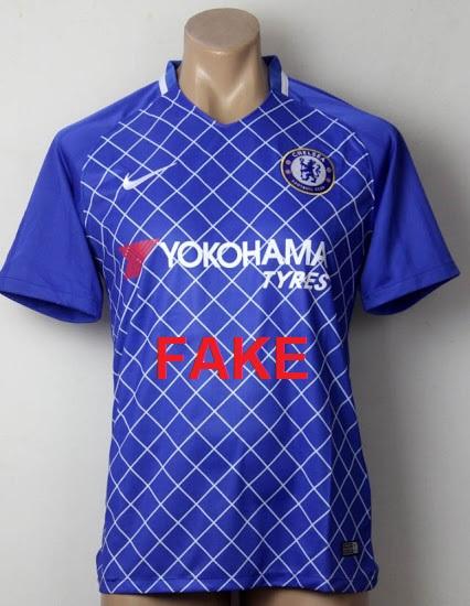 Faux maillot de Chelsea 2017 2018