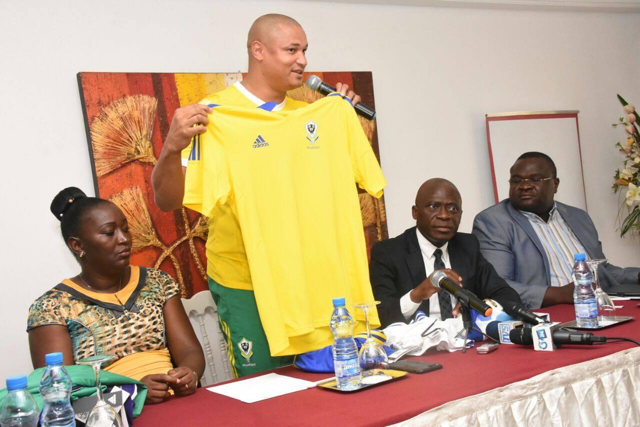 Gabon CAN 2017 maillot de foot domicile