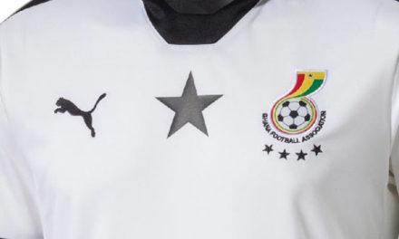 Le nouveau maillot de foot du Ghana CAN 2017
