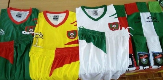 Guinee Bissau CAN 2017 maillots de football