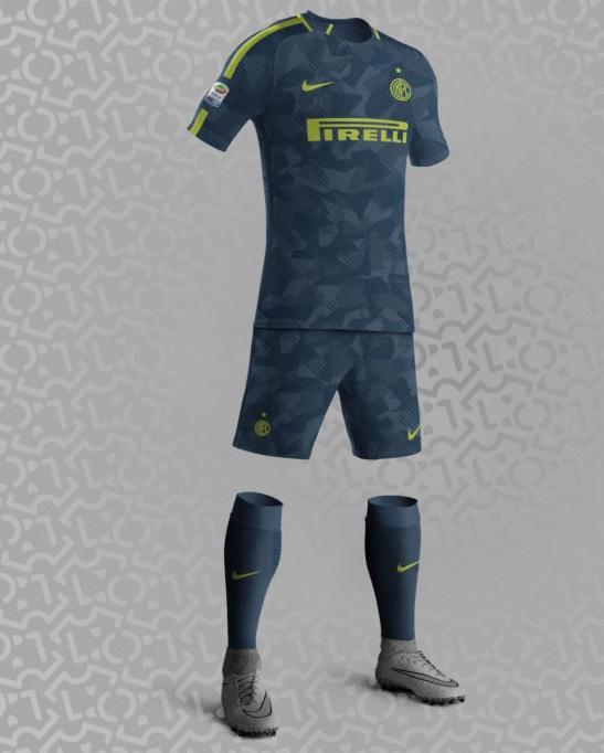 Inter Milan 2017 2018 possible maillot third