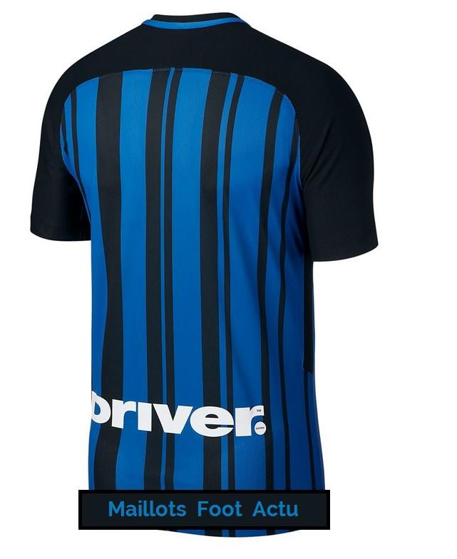 Inter Milan 2018 dos maillot domicile football 17 18
