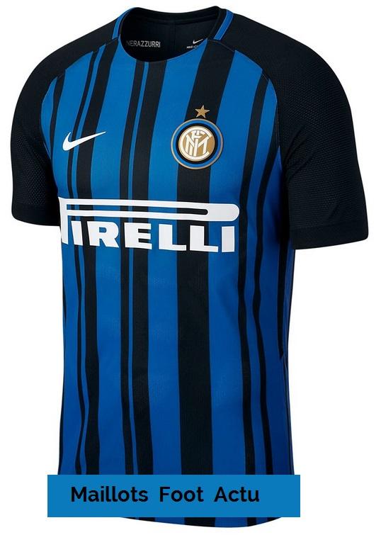 Inter Milan 2018 maillot domicile foot 17 18