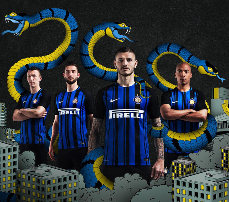 Inter Milan 2018 maillot 2017 2018