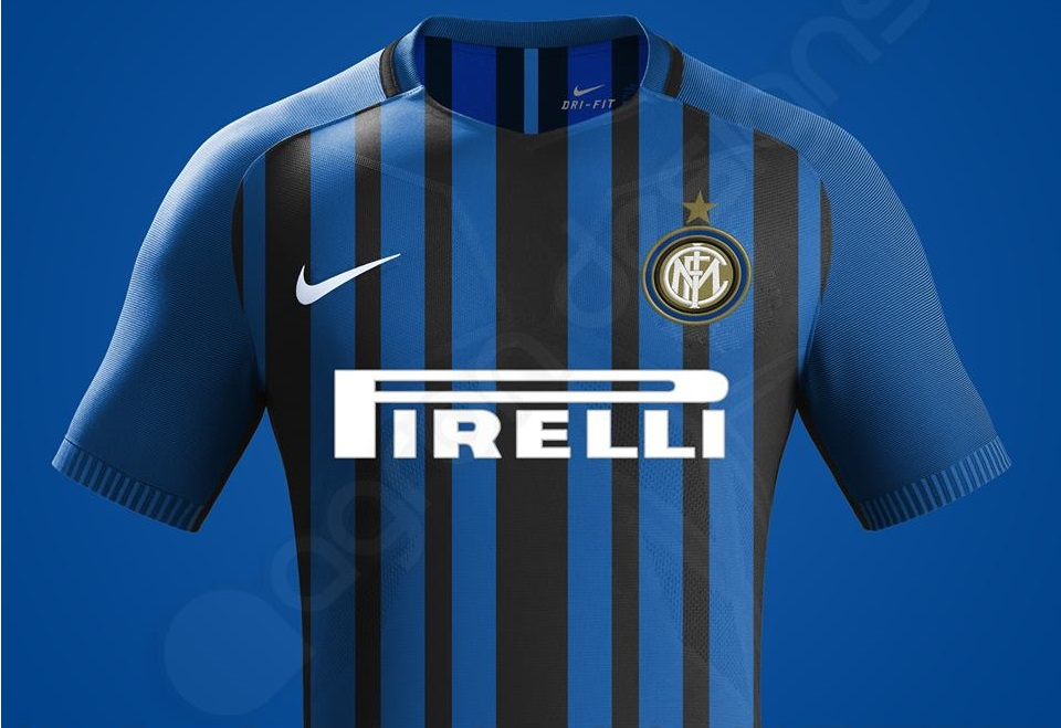 Inter Milan 2018 maillot foot domicile Nike possible