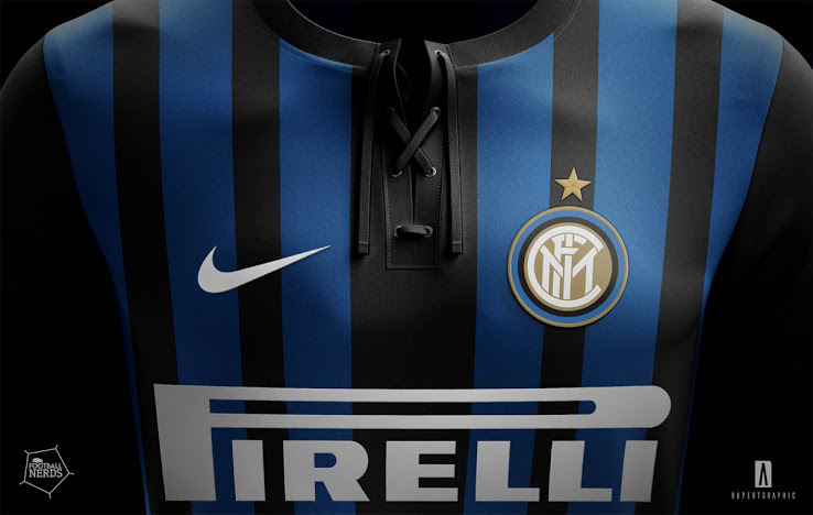 Inter Milan 2018 supposition maillot domicile
