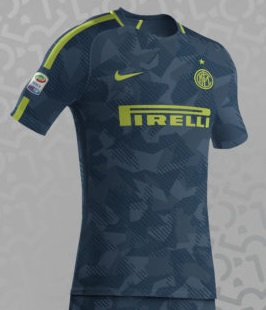 Inter de Milan 2017 2018 possible maillot third