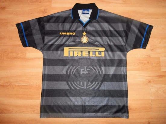 Inter de Milan maillot foot 1997 1998