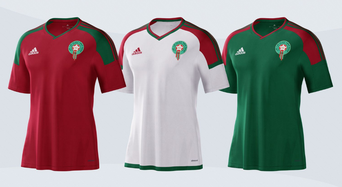 Maroc 2017 maillots de football CAN 2017