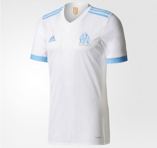 Marseille 2018 maillot de foot domicile