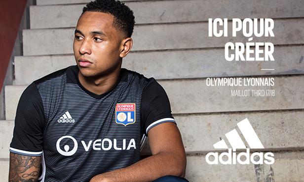 OL 2018 maillot third Lyon 2018 Tete