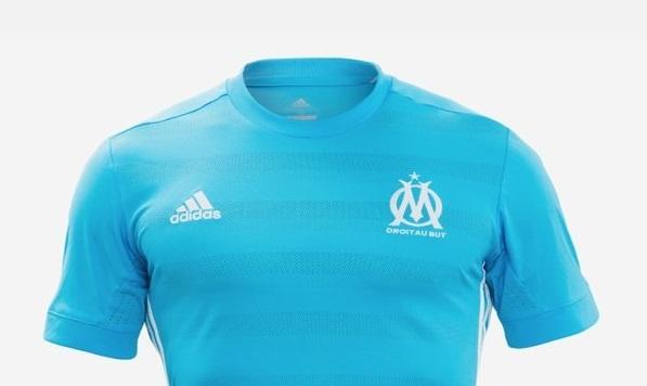 OM 2018 maillot extérieur foot Marseille