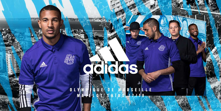 OM 2018 maillot third officiel 17 18 Adidas