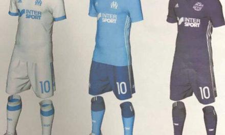 Informations sur les futurs maillots de foot OM 2018