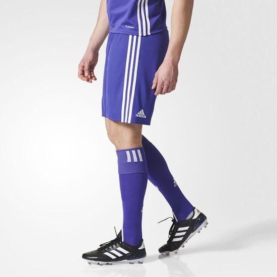 OM 2018 third short et chaussette football violet