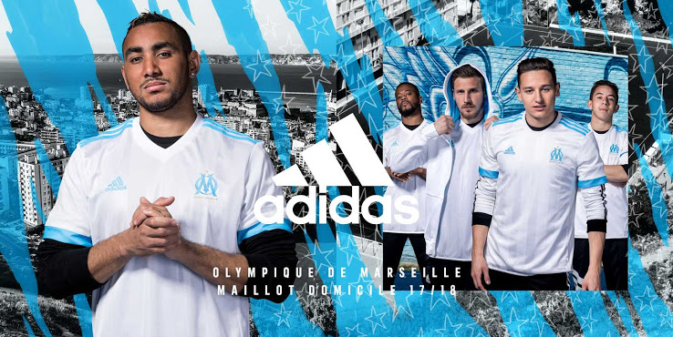 Olympique de Marseille 2018 maillots de football