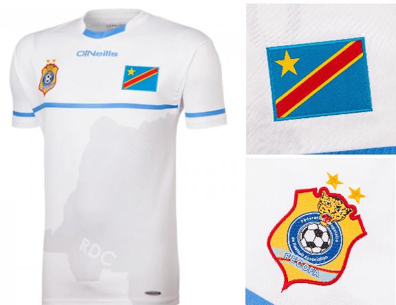 RD Congo CAN 2017 maillot exterieur