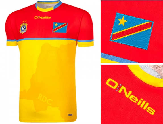 RD Congo CAN 2017 maillot gardien domcile