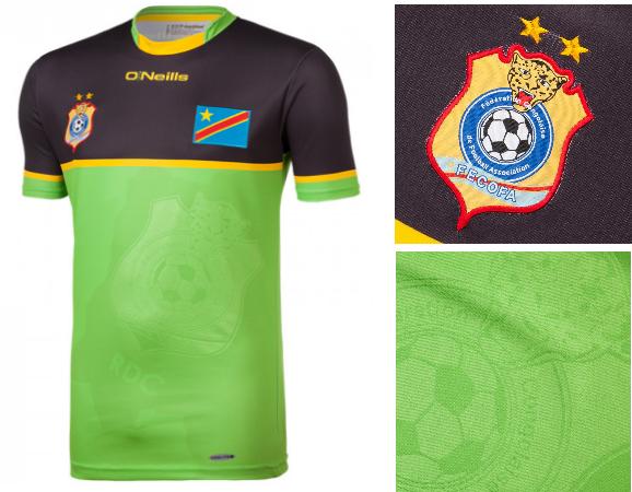 RD Congo CAN 2017 maillot gardien exterieur