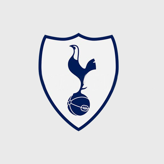 Tottenham 17 18 blason maillot