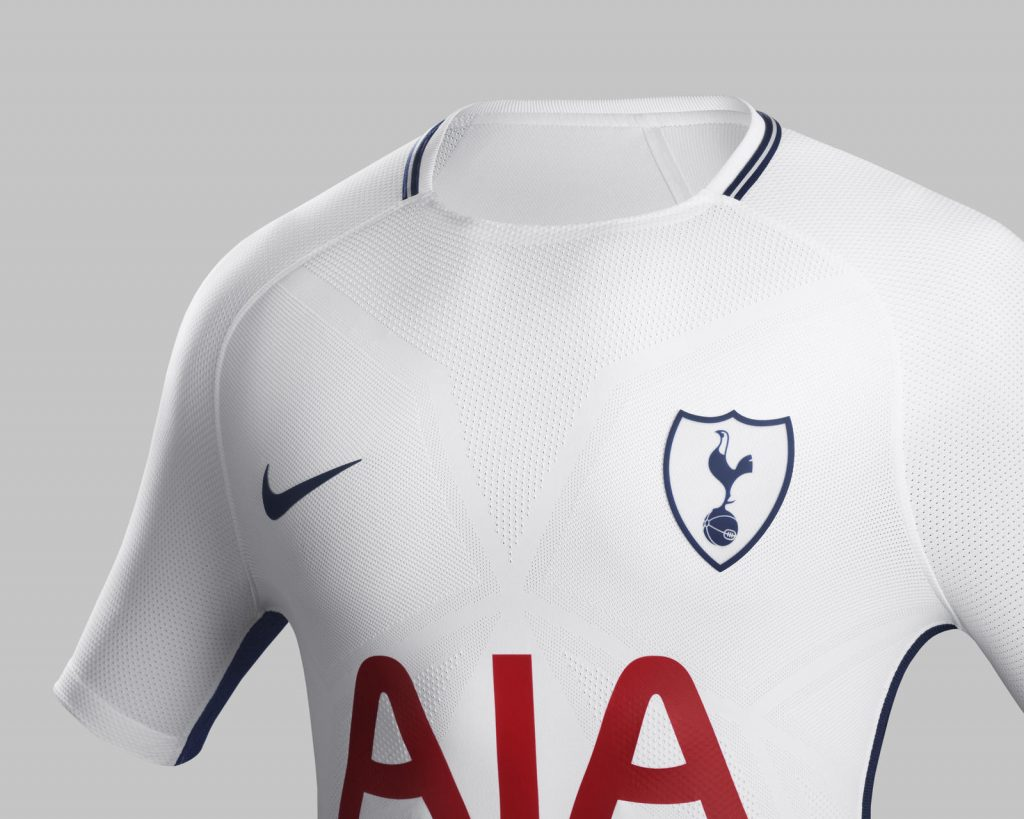 Tottenham 2017 2018 maillot domicile foot