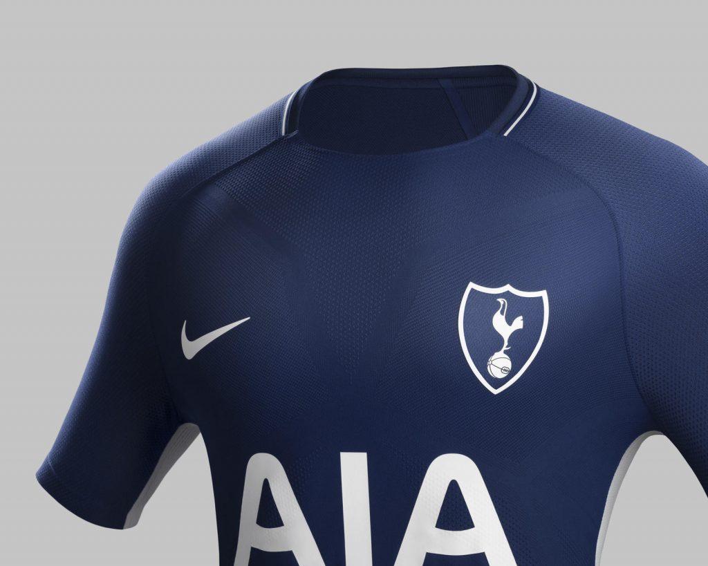Tottenham 2017 2018 maillot exterieur bleu